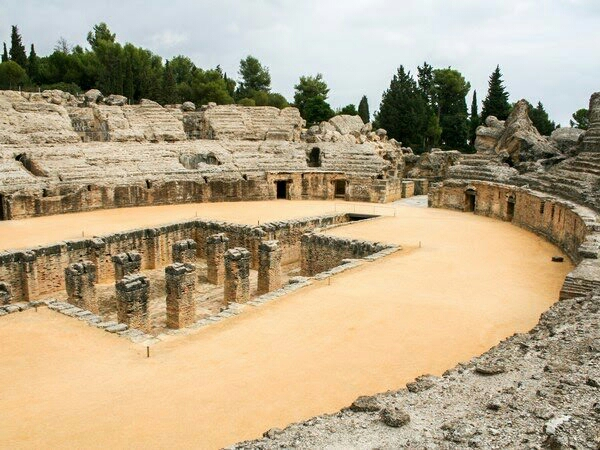 amphitheater de italica Filming locations, Spain, Game